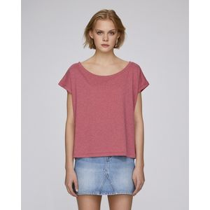 STTW041 Stanley&Stella Files T-shirt corta donna scollo barca relaxed fit 100% cotone organico 120gr Thumbnail