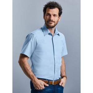Consegna in 96h - R923M Russell camicia uomo maniceh corte Easy Care 70%cotone 30% poliestere 135gr Thumbnail
