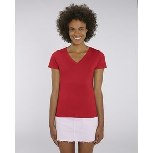 STTW023 Stanley&Stella Evoker T-shirt donna scollo a V Medium fit  100% cotone biologico 120gr Thumbnail