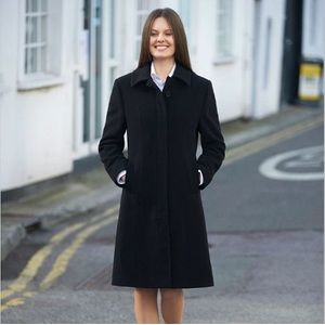 2261 Brook Taverner Cappotto donna 60% Lana 20% Cashmere, 20% Polyamide Thumbnail