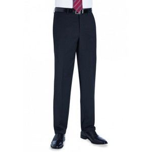 8387 Brook Taverner Avalino Pantalone uomo Tailored fit 54% poliestere 44% lana 2% Lycra Thumbnail